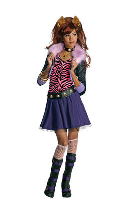 05-10V Monster High Clawdeen Wolf - TV ja satuhahmot - 16790 - 1