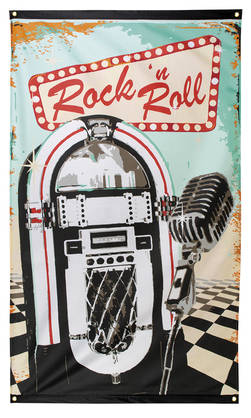 50´s Lippu Rock´n Roll - 40-50-Luku (Rock'n Roll) - 22191 - 1