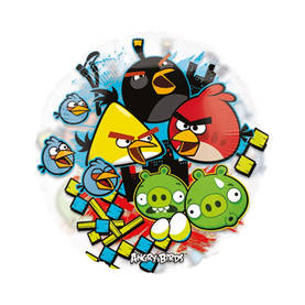 Foliopallo Angry Birds - Isot muotofoliot - 18646 - 1