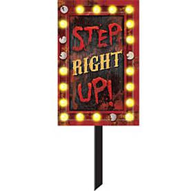 Kyltti Step Right Up - Tarrat, bannerit ja muut - 19517 - 1