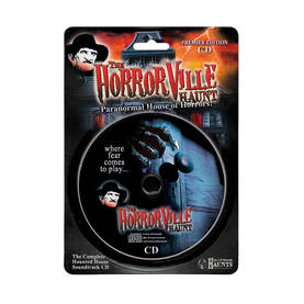 Halloween CD Paranormal house - Tarrat, bannerit ja muut - 19439 - 1